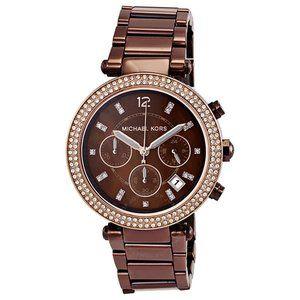 MICHAEL KORS Parker Chronograph Chocolate Watch
